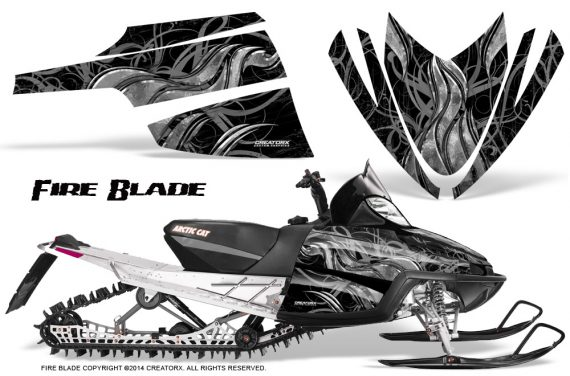 Arctic-Cat-M-Series-CrossFire-Graphics-Kit-Fire-Blade-Silver-Black