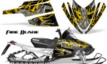 Arctic Cat M Series CrossFire Graphics Kit Fire Blade Yellow Black 150x90 - Arctic Cat M Series Crossfire Graphics