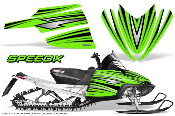 Arctic-Cat-M-Series-CrossFire-Graphics-Kit-SpeedX-Black-Green