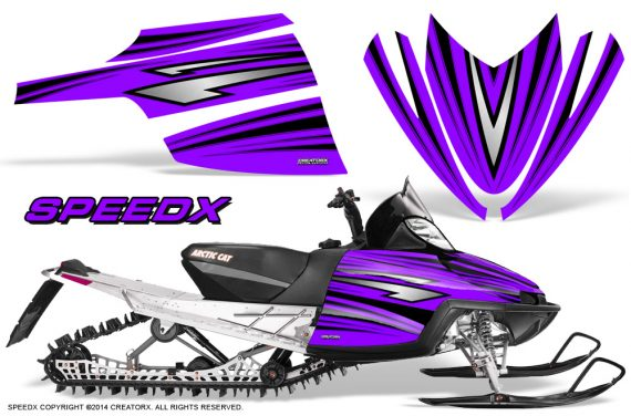 Arctic-Cat-M-Series-CrossFire-Graphics-Kit-SpeedX-Black-Purple
