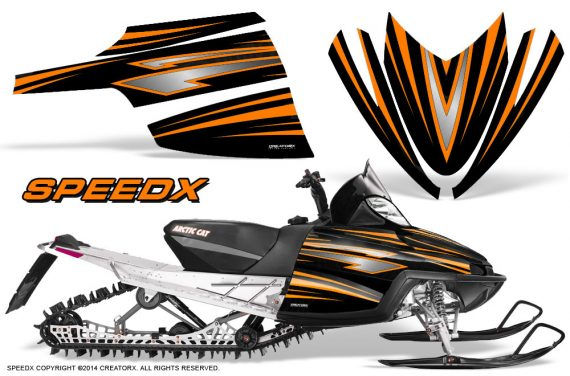 Arctic-Cat-M-Series-CrossFire-Graphics-Kit-SpeedX-Orange-Black