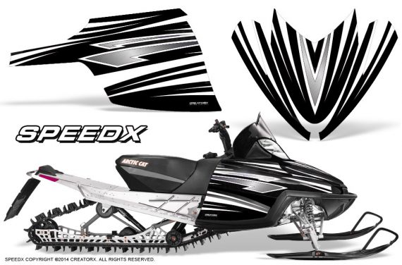 Arctic-Cat-M-Series-CrossFire-Graphics-Kit-SpeedX-White-Black