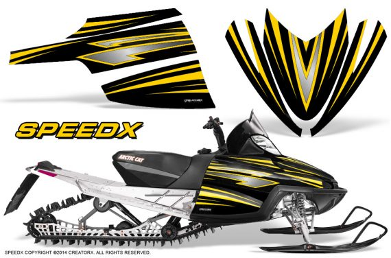 Arctic-Cat-M-Series-CrossFire-Graphics-Kit-SpeedX-Yellow-Black