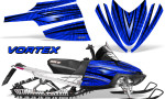 Arctic Cat M Series CrossFire Graphics Kit Vortex Black Blue 150x90 - Arctic Cat M Series Crossfire Graphics