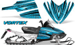 Arctic Cat M Series CrossFire Graphics Kit Vortex Black BlueIce 150x90 - Arctic Cat M Series Crossfire Graphics