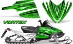 Arctic Cat M Series CrossFire Graphics Kit Vortex Black Green 150x90 - Arctic Cat M Series Crossfire Graphics