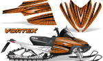 Arctic Cat M Series CrossFire Graphics Kit Vortex Black Orange 150x90 - Arctic Cat M Series Crossfire Graphics
