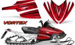 Arctic Cat M Series CrossFire Graphics Kit Vortex Black Red 150x90 - Arctic Cat M Series Crossfire Graphics