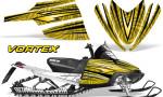 Arctic Cat M Series CrossFire Graphics Kit Vortex Black Yellow 150x90 - Arctic Cat M Series Crossfire Graphics