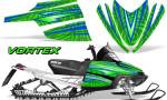 Arctic Cat M Series CrossFire Graphics Kit Vortex Blue Green 150x90 - Arctic Cat M Series Crossfire Graphics