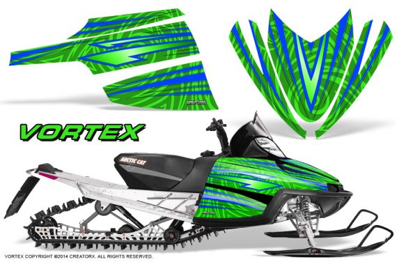 Arctic-Cat-M-Series-CrossFire-Graphics-Kit-Vortex-Blue-Green