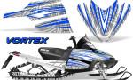 Arctic Cat M Series CrossFire Graphics Kit Vortex Blue White 150x90 - Arctic Cat M Series Crossfire Graphics