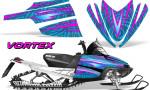 Arctic Cat M Series CrossFire Graphics Kit Vortex Pink BlueIce 150x90 - Arctic Cat M Series Crossfire Graphics