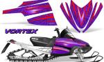 Arctic Cat M Series CrossFire Graphics Kit Vortex Red Purple 150x90 - Arctic Cat M Series Crossfire Graphics
