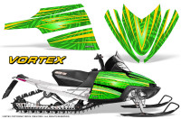 Arctic-Cat-M-Series-CrossFire-Graphics-Kit-Vortex-Yellow-Green