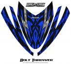 Arctic-Cat-M-Series-Crossfire-Hood-CreatorX-Graphics-Kit-Bolt-Thrower-Blue