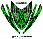 Arctic-Cat-M-Series-Crossfire-Hood-CreatorX-Graphics-Kit-Bolt-Thrower-Green
