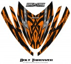 Arctic-Cat-M-Series-Crossfire-Hood-CreatorX-Graphics-Kit-Bolt-Thrower-Orange
