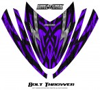 Arctic-Cat-M-Series-Crossfire-Hood-CreatorX-Graphics-Kit-Bolt-Thrower-Purple