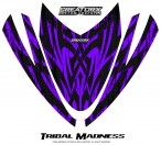 Arctic-Cat-M-Series-Crossfire-Hood-CreatorX-Graphics-Kit-Tribal-Madness-Purple