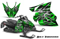 Arctic-Cat-Pro-Climb-Cross-2012-CreatorX-Graphics-Kit-.Bolt-Thrower-Green