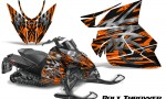Arctic Cat Pro Climb Cross 2012 CreatorX Graphics Kit .Bolt Thrower Orange 150x90 - Arctic Cat ProClimb ProCross SnoPro ZR-XF-M 2012-2016 Graphics