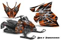 Arctic-Cat-Pro-Climb-Cross-2012-CreatorX-Graphics-Kit-.Bolt-Thrower-Orange