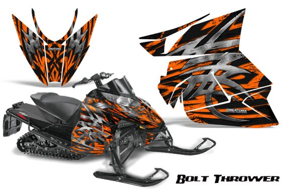 Arctic Cat Pro Climb Cross 2012 CreatorX Graphics Kit .Bolt Thrower Orange 570x376 - Arctic Cat ProClimb ProCross SnoPro ZR-XF-M 2012-2016 Graphics