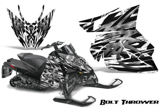 Arctic Cat Pro Climb Cross 2012 CreatorX Graphics Kit .Bolt Thrower White 570x376 - Arctic Cat ProClimb ProCross SnoPro ZR-XF-M 2012-2016 Graphics