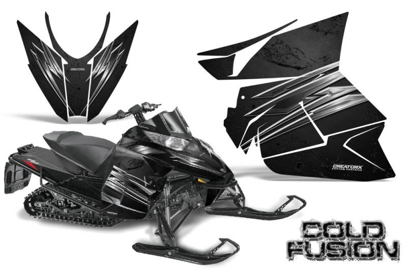 Arctic-Cat-Pro-Climb-Cross-2012-CreatorX-Graphics-Kit-Cold-Fusion-Black