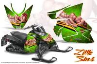 Arctic-Cat-Pro-Climb-Cross-2012-CreatorX-Graphics-Kit-Little-Sins-Green
