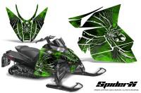 Arctic-Cat-Pro-Climb-Cross-2012-CreatorX-Graphics-Kit-SpiderX-Green