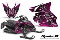 Arctic-Cat-Pro-Climb-Cross-2012-CreatorX-Graphics-Kit-SpiderX-Pink
