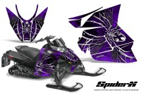 Arctic-Cat-Pro-Climb-Cross-2012-CreatorX-Graphics-Kit-SpiderX-Purple