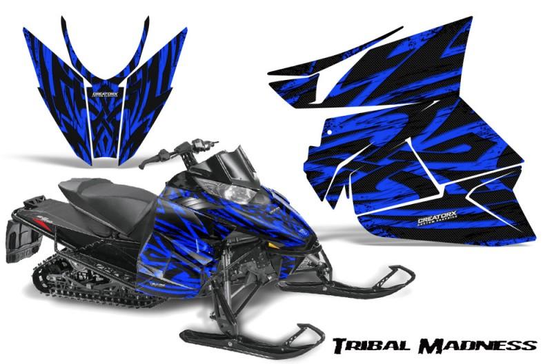 Arctic-Cat-Pro-Climb-Cross-2012-CreatorX-Graphics-Kit-Tribal-Madness-Blue