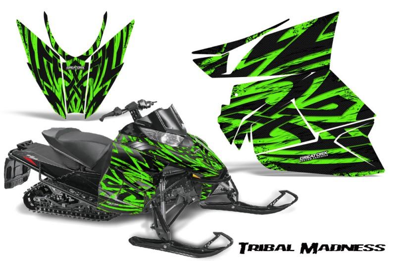 Arctic-Cat-Pro-Climb-Cross-2012-CreatorX-Graphics-Kit-Tribal-Madness-Green