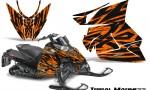 Arctic Cat Pro Climb Cross 2012 CreatorX Graphics Kit Tribal Madness Orange 150x90 - Arctic Cat ProClimb ProCross SnoPro ZR-XF-M 2012-2016 Graphics