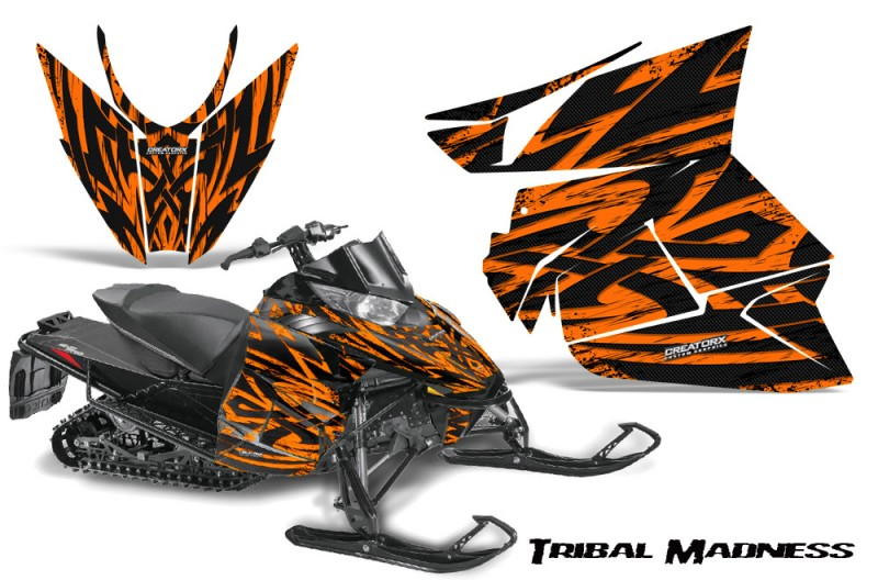Arctic-Cat-Pro-Climb-Cross-2012-CreatorX-Graphics-Kit-Tribal-Madness-Orange