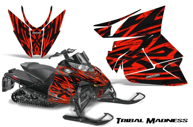 Arctic-Cat-Pro-Climb-Cross-2012-CreatorX-Graphics-Kit-Tribal-Madness-Red