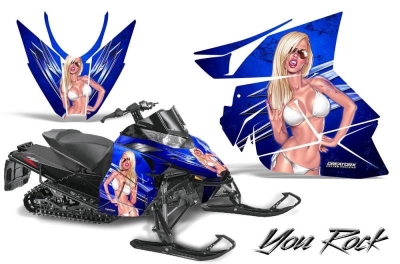 Arctic-Cat-Pro-Climb-Cross-2012-CreatorX-Graphics-Kit-You-Rock-Blue