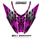 Arctic-Cat-Pro-Climb-Cross-2012-Hood-CreatorX-Graphics-Kit-Bolt_Thrower_Pink