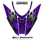 Arctic-Cat-Pro-Climb-Cross-2012-Hood-CreatorX-Graphics-Kit-Bolt_Thrower_Purple
