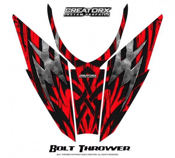 Arctic-Cat-Pro-Climb-Cross-2012-Hood-CreatorX-Graphics-Kit-Bolt_Thrower_Red