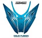 Arctic-Cat-Pro-Climb-Cross-2012-Hood-CreatorX-Graphics-Kit-Cold-Fusion-BlueIce