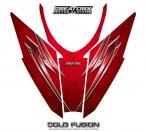 Arctic-Cat-Pro-Climb-Cross-2012-Hood-CreatorX-Graphics-Kit-Cold-Fusion-Red