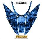 Arctic-Cat-Pro-Climb-Cross-2012-Hood-CreatorX-Graphics-Kit-Inferno-Blue