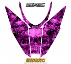 Arctic-Cat-Pro-Climb-Cross-2012-Hood-CreatorX-Graphics-Kit-Inferno-Pink
