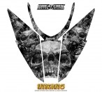Arctic-Cat-Pro-Climb-Cross-2012-Hood-CreatorX-Graphics-Kit-Inferno-Silver