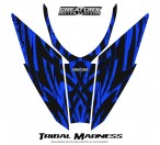 Arctic-Cat-Pro-Climb-Cross-2012-Hood-CreatorX-Graphics-Kit-Tribal-Madness-Blue