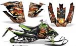 Arctic Cat Sno Pro AMR Graphics Kit Firestorm B 2 150x90 - Arctic Cat Sno Pro Race 500 600 Graphics